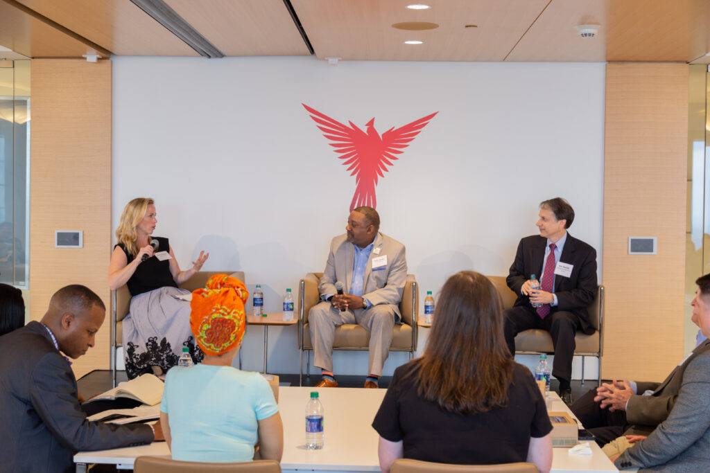 Panel: Beth Blalock, Felix Turner and Ron Dortch